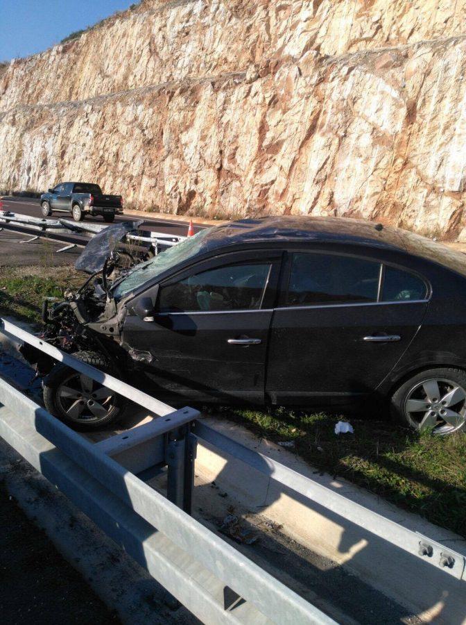 Ruhi Çenet trafik kazası