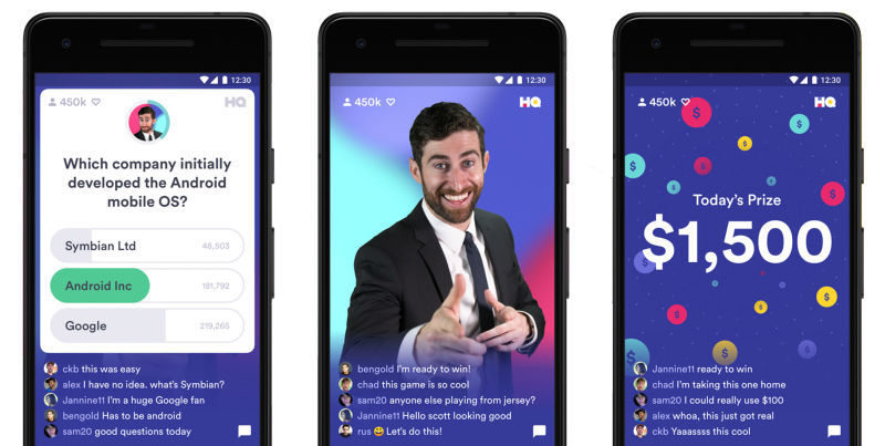 hq trivia android sdn