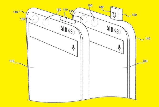 Essential Phone, kamera patenti
