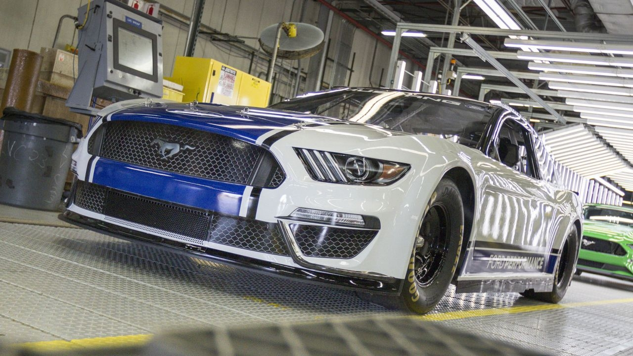 2019 Ford Mustang Monster Energy NASCAR