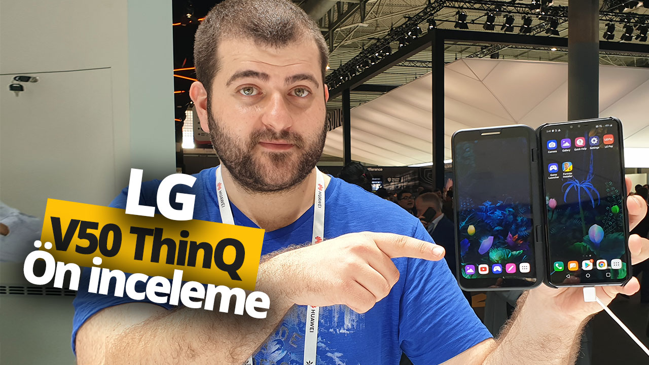 LG V50 ThinQ 5G ön inceleme (Video)