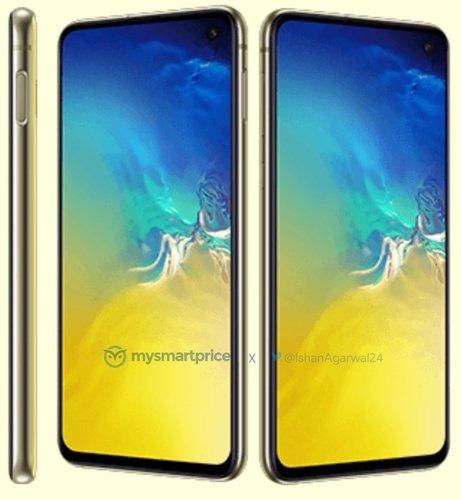 Sarı Galaxy S10
