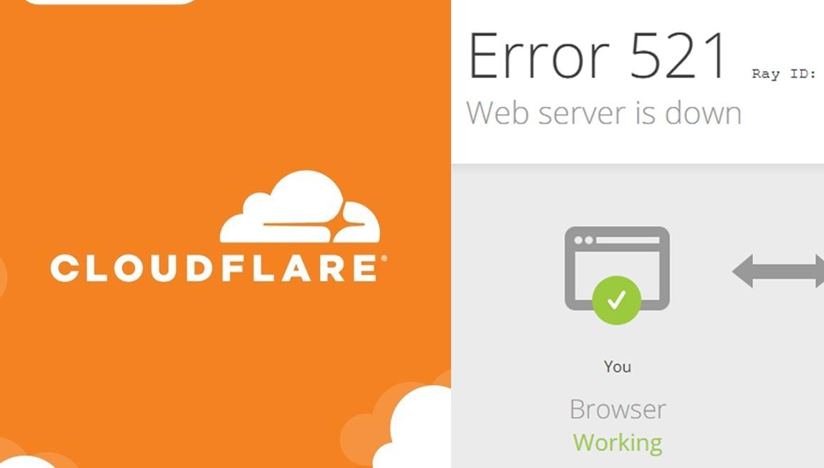 Cloudflare çöktü! Binlerce site açılmıyor!