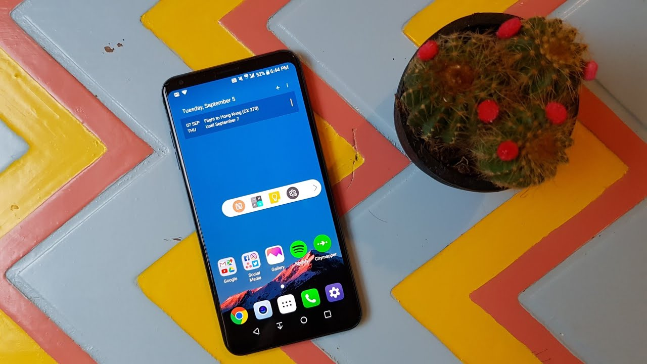 LG V30 Android Pie