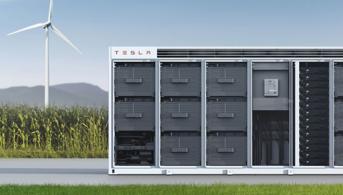 Tesla Megapack: The biggest energy storage system