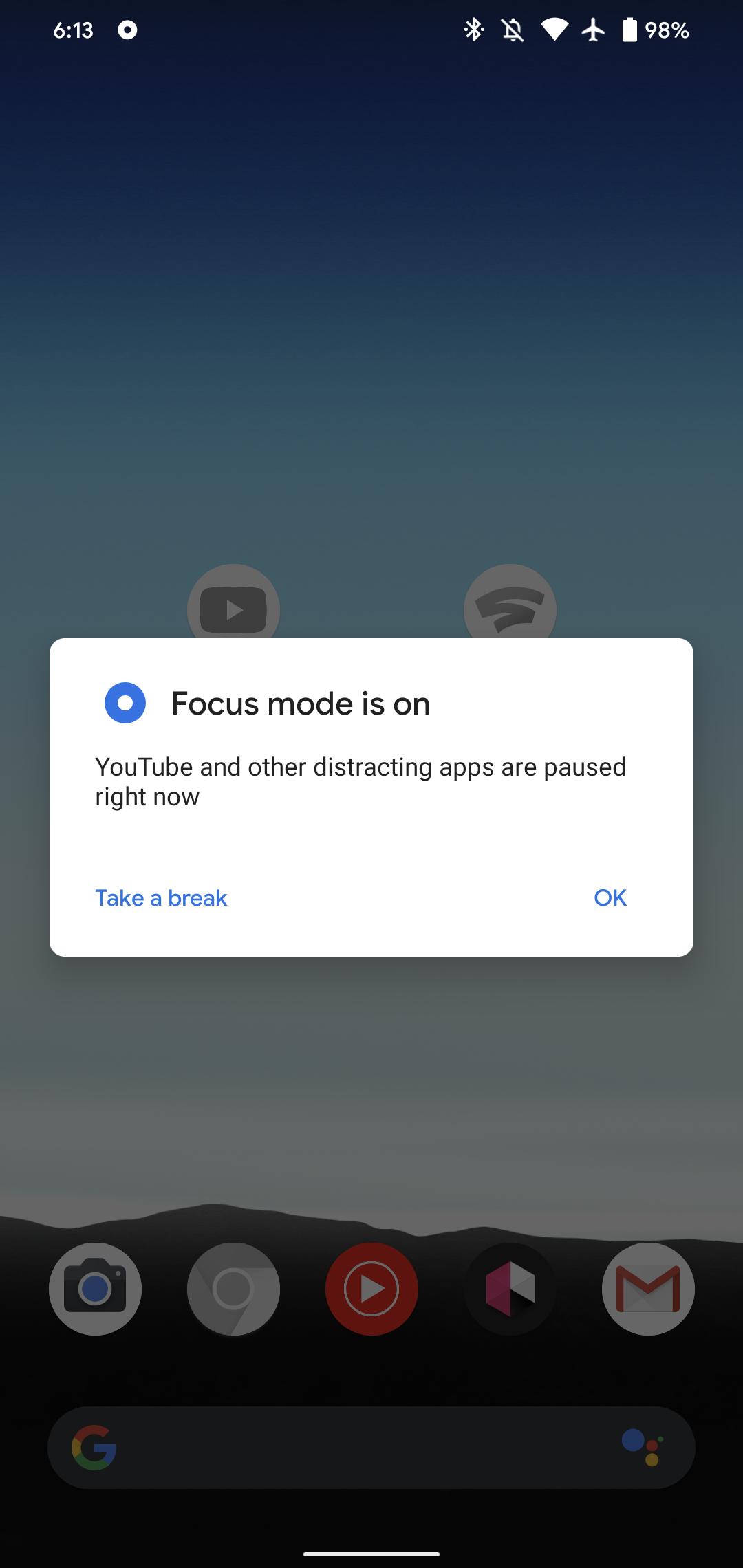 Google, Android 9 ve Android 10 cihazlar için Odak Modu özelliğini yayınladı