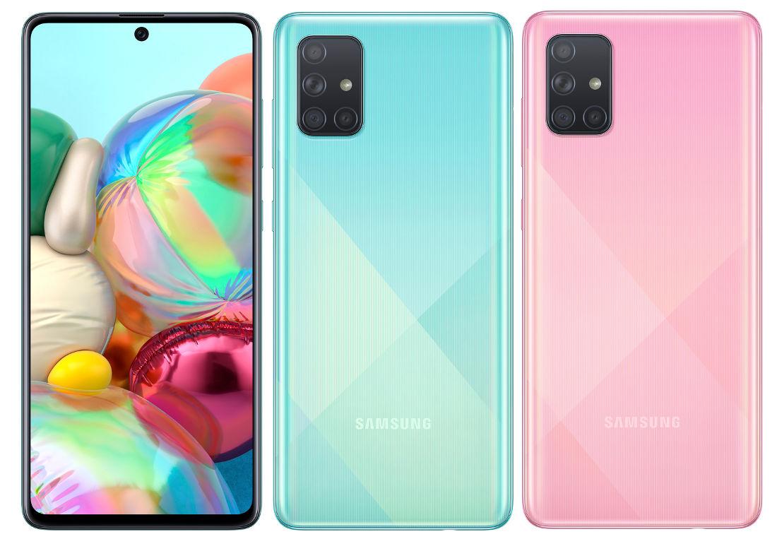 Galaxy A71 Avrupa fiyatı
