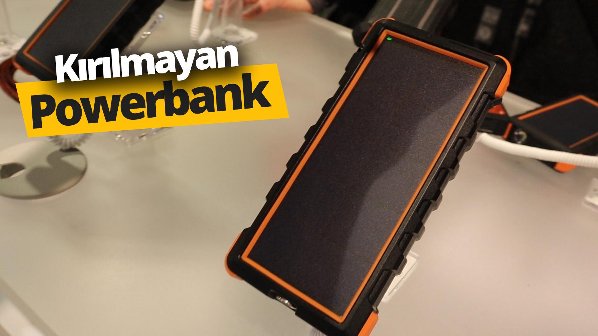 Şarjı bitmeyen, sağlam powerbank!