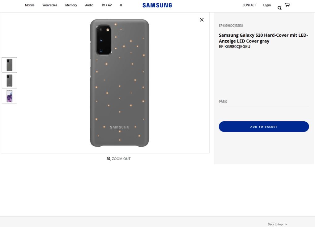 Samsung Galaxy S20 resmi web sitesinde görüntülendi! - ShiftDelete.Net(2)