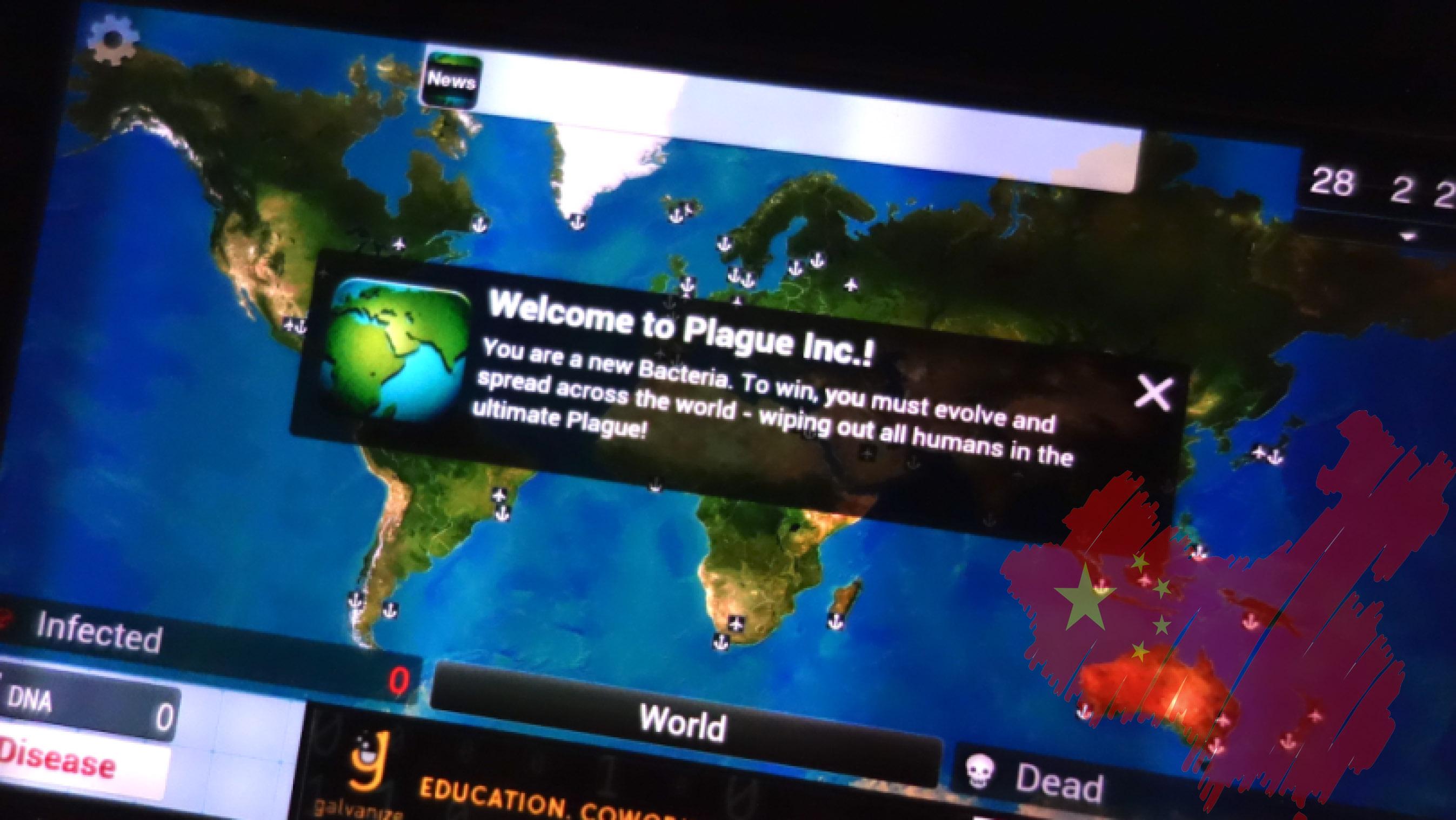 Çin'den Plague Inc oyunu için şaşırtan karar