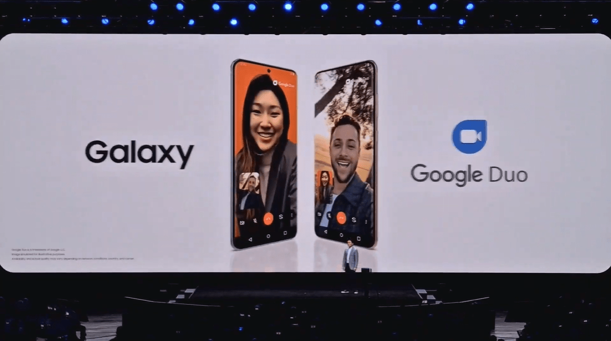 FaceTime rakibi Google Duo, Galaxy S20'de!