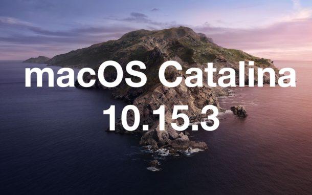 macos catalina 10.15.3 güncellemesi macos catalina güncellemesi