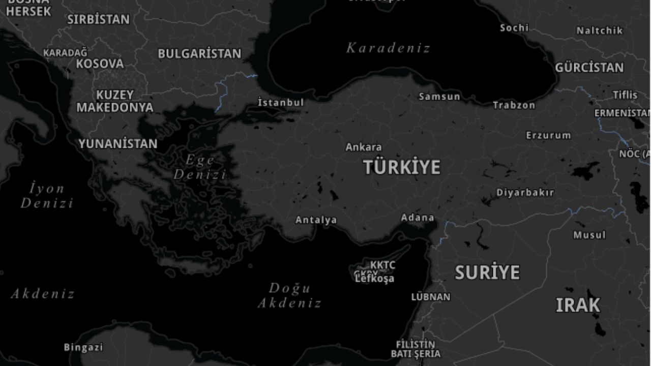 Türkiye Corona virüsü haritası resmi internet sitesi