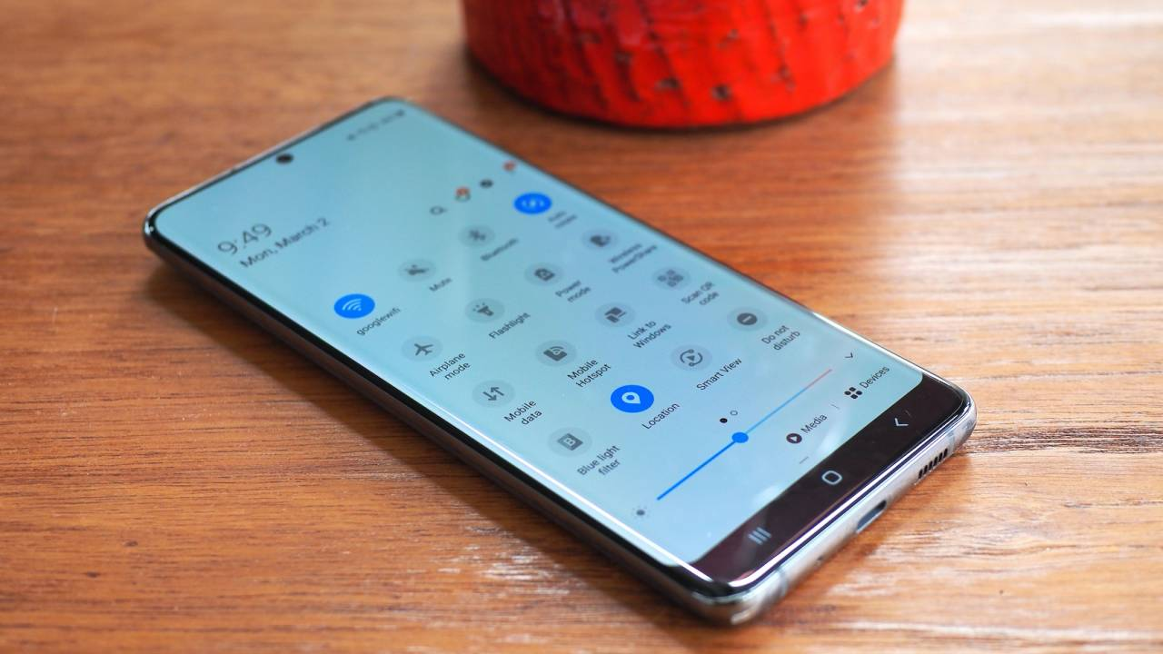 Galaxy Note 9 One UI 2.1