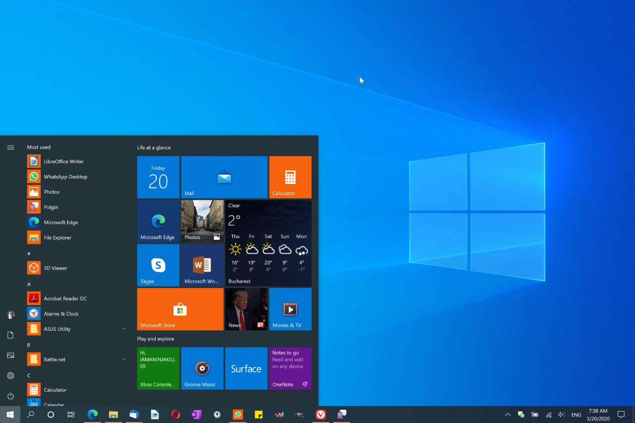 windows 10 32 bit desteği