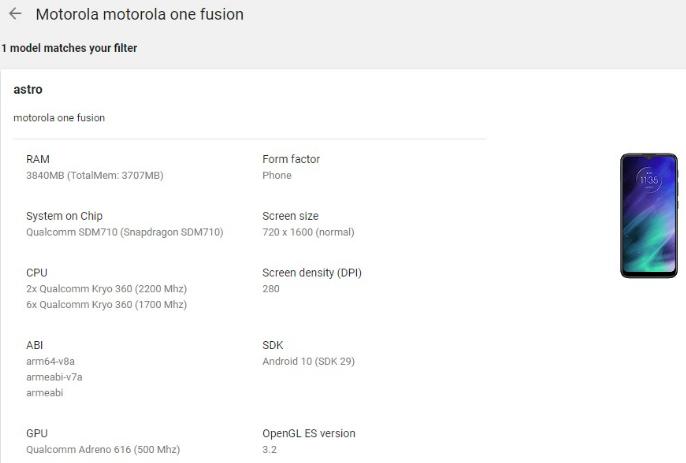 Motorola One Fusion özellikleri sızdırıldı! - ShiftDelete.Net
