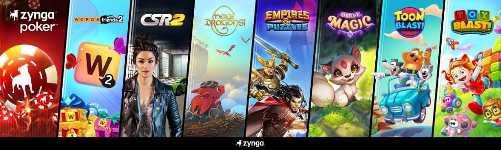 Zynga ve Peak Games oyunları aynı karede.