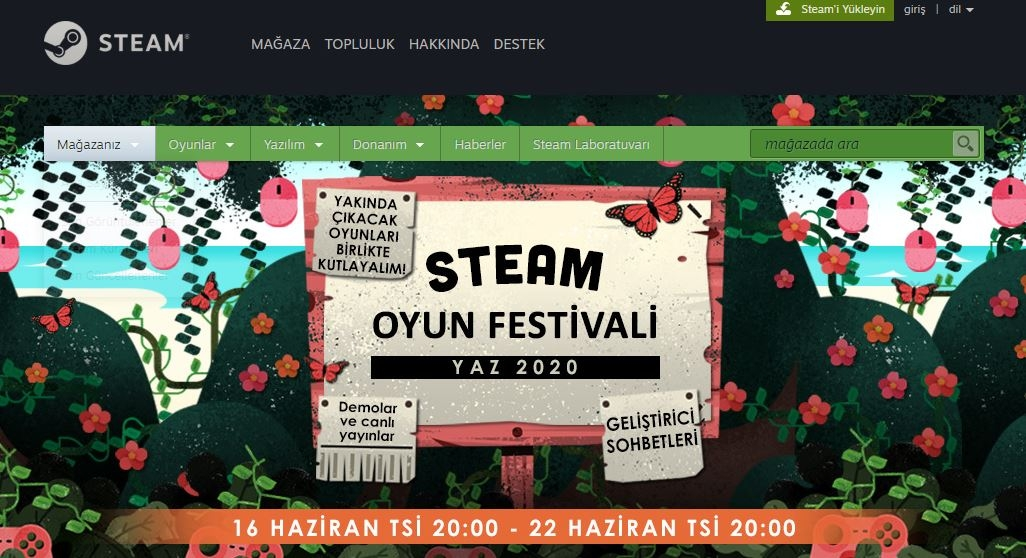 steam yaz festivali