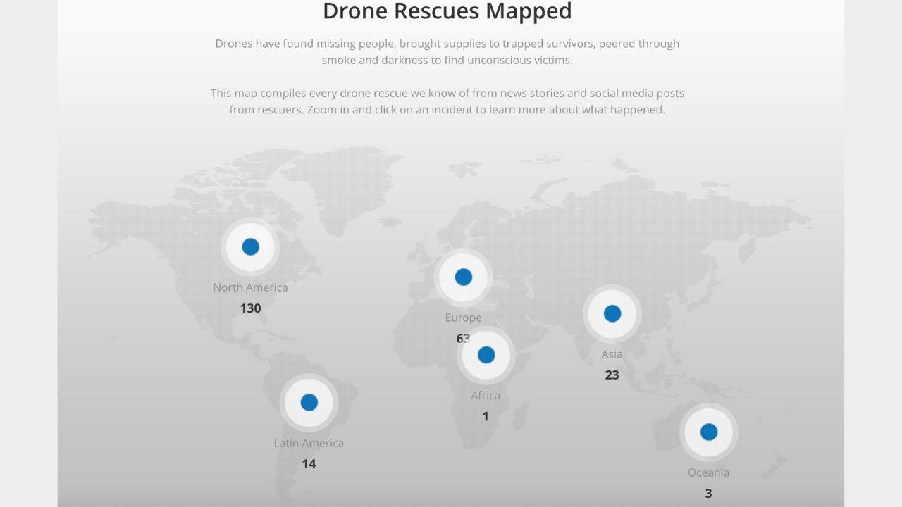 DJI Drone Kurtarma Haritası ile hayat kurtaracak! - ShiftDelete.Net