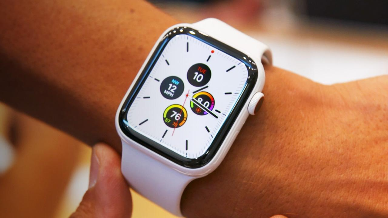 Apple Watch Series 5 kapanma sorunu