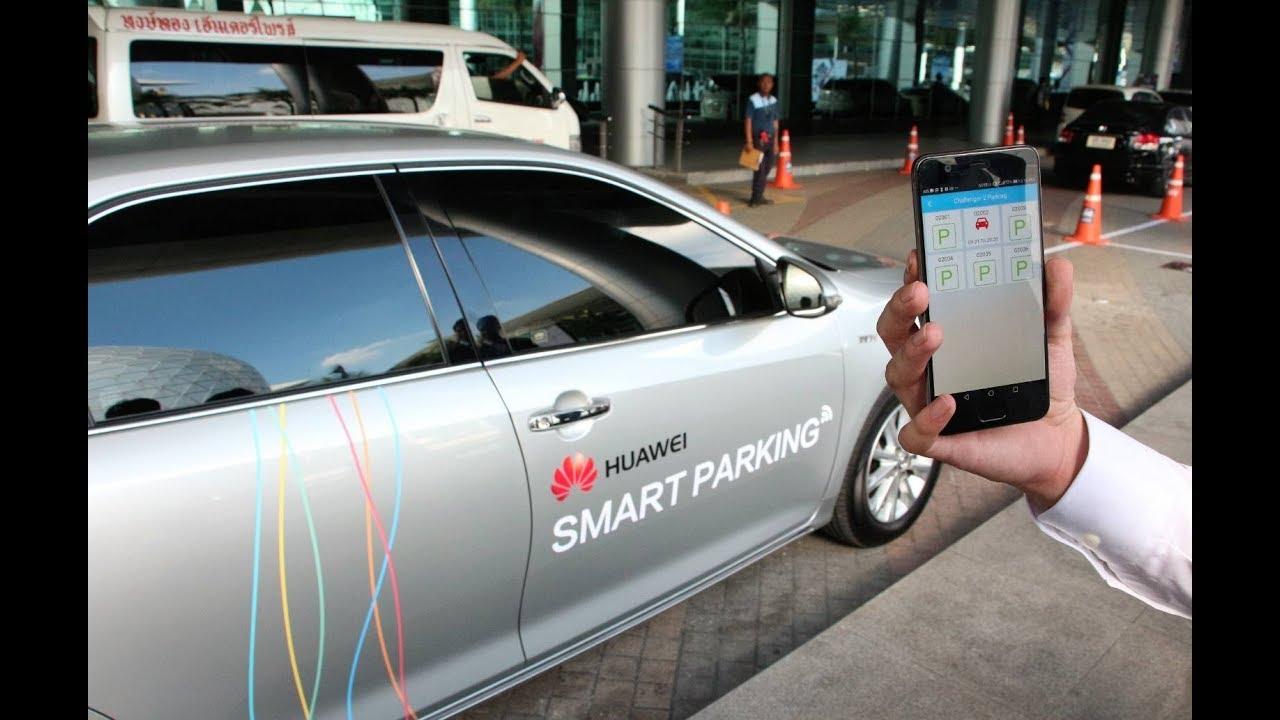 Huawei akıllı otomobil sistemi