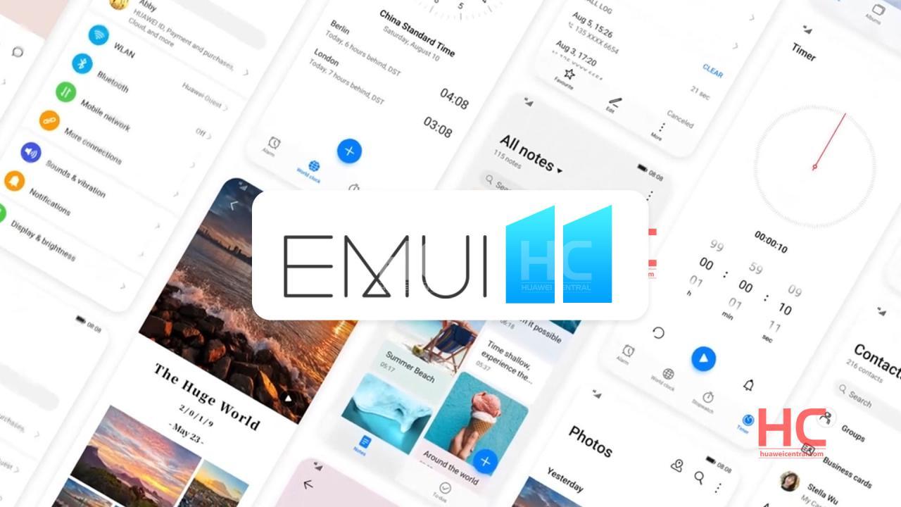 EMUI 11 çıkış tarihi