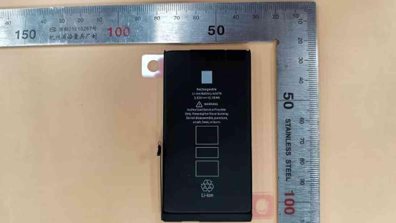iPhone 12 Pro bataryası
