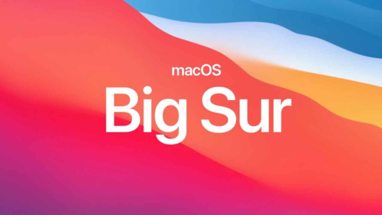 macOS Big Sur kodları