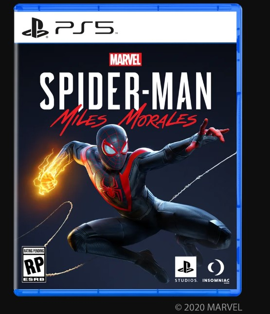 PlayStation 5 Spider-Man Mlies Morales