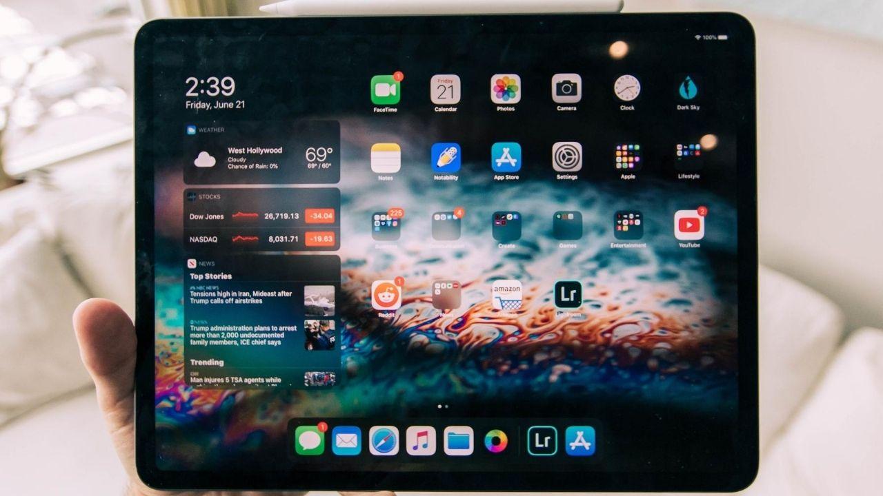 Katlanabilir ekranlı iPad için özellikler sızdırıldı!