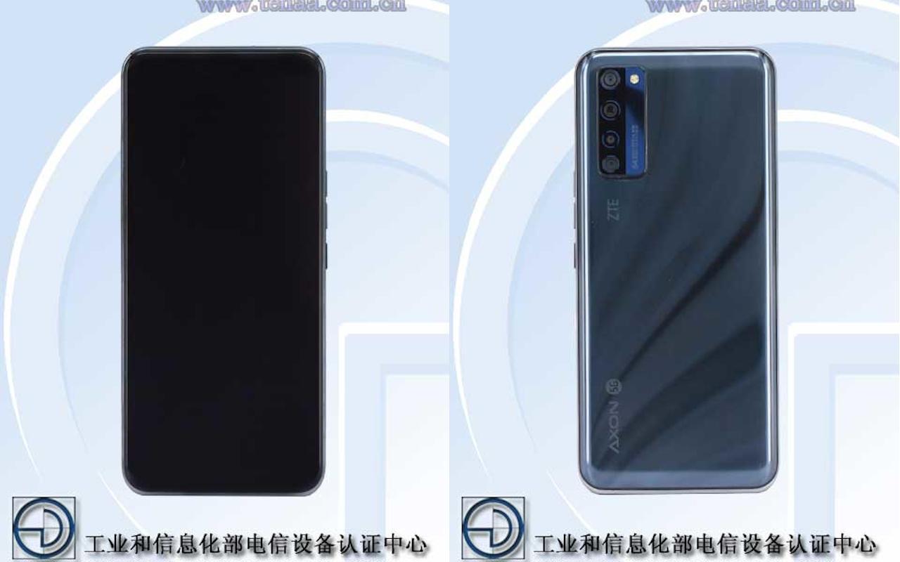 ZTE Axon 20 5G ekran altı kameralı ilk telefon olabilir!