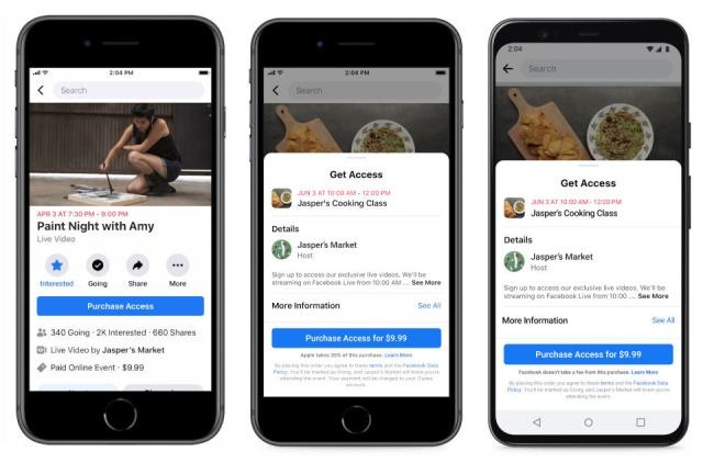 app store komisyon ücretleri, komisyon ücretleri, apple epic, facebook içerik üreticileri
