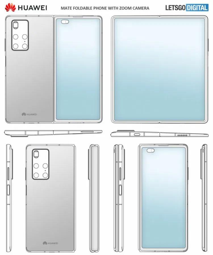 Huawei Mate X2 tasarımı