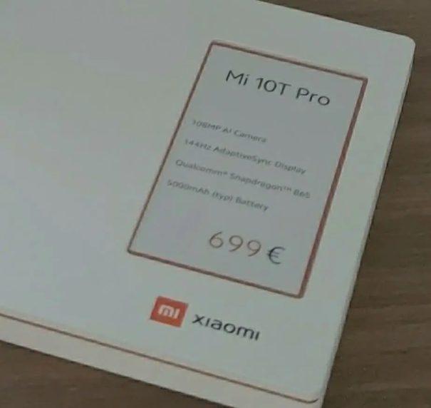 Xiaomi Mi 10T Lite olması beklenen akıllı telefon ortaya çıktı!