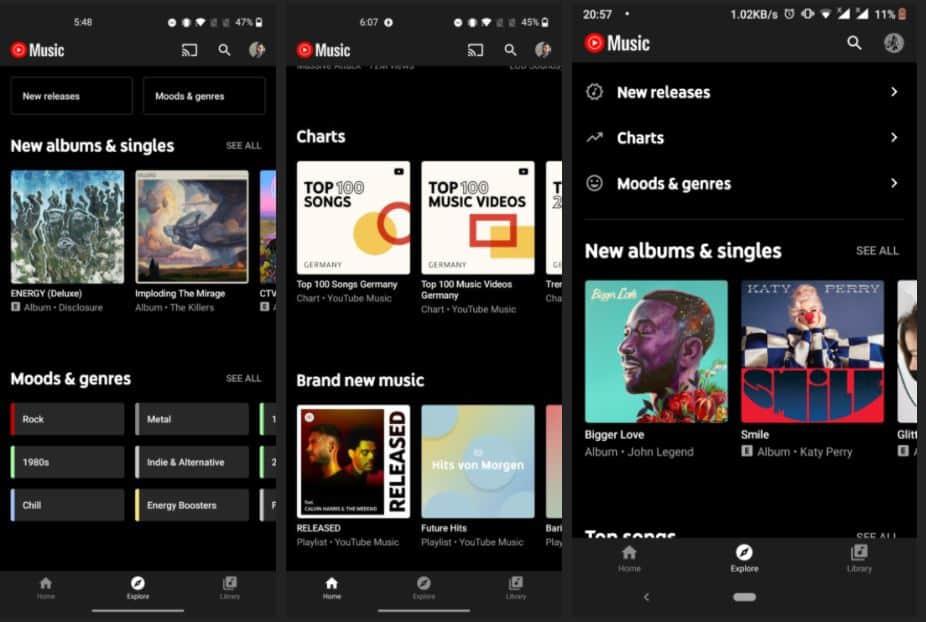 youtube music yeni özelliği