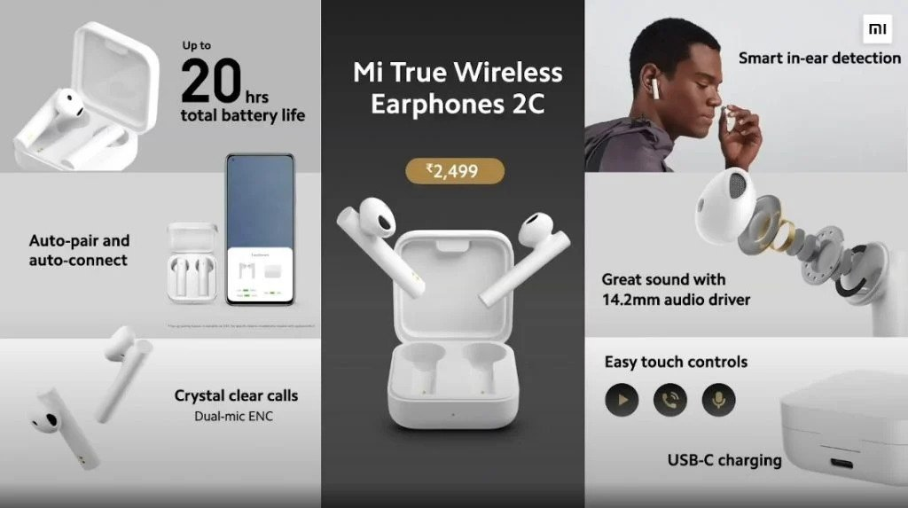 Xiaomi Mi True Wireless 2C