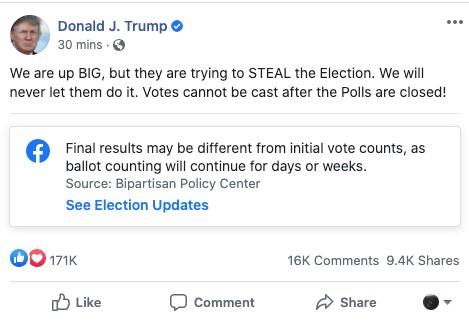 Twitter ile Trump arasındaki seçim gerginliği tırmanıyor
