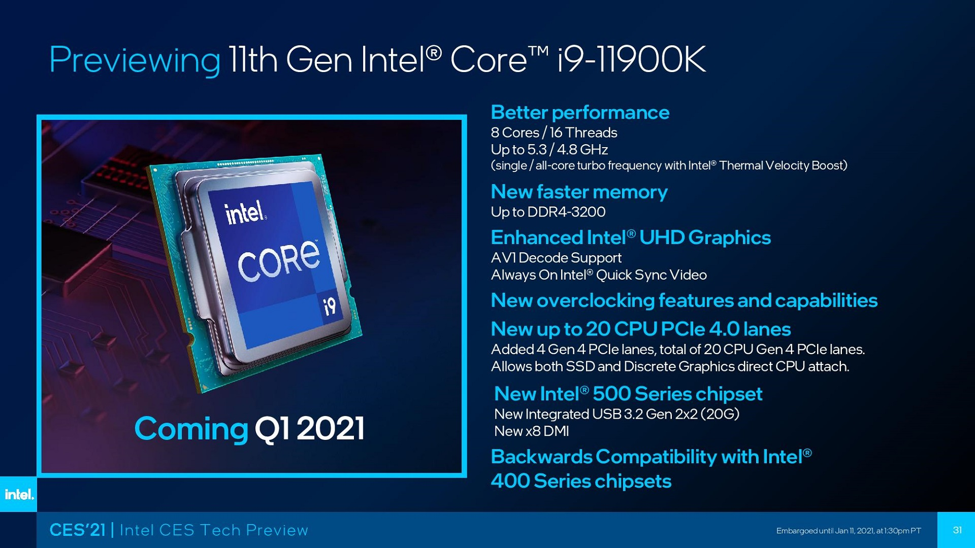intel core i9 11900k ozellikleri ve performansi 1 | Tekno Deha