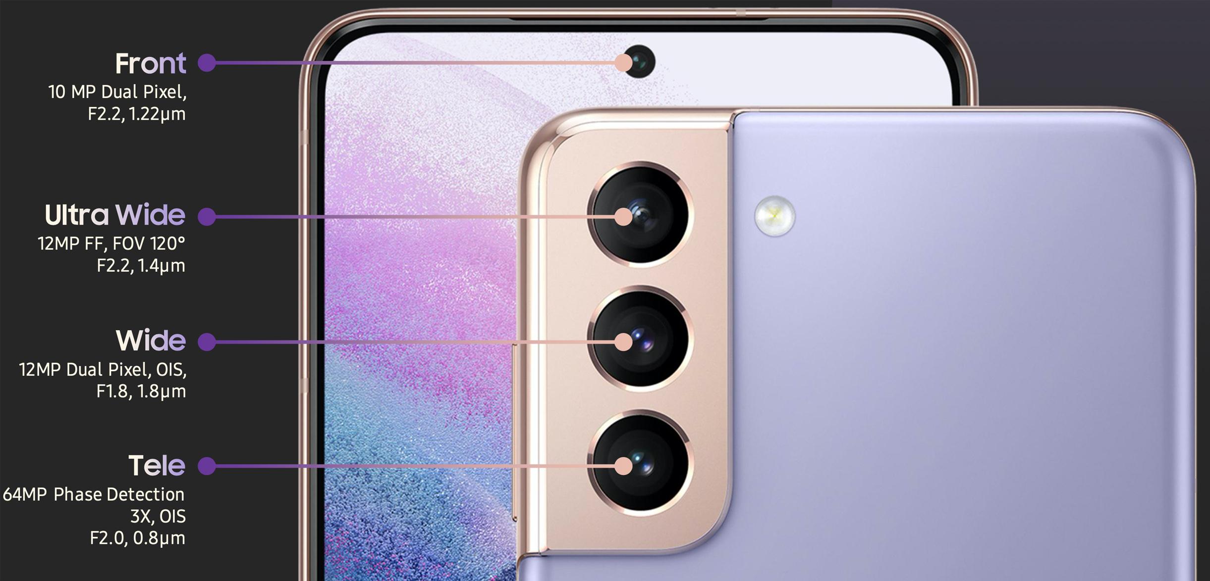 Galaxy S21 kamera özellikleri