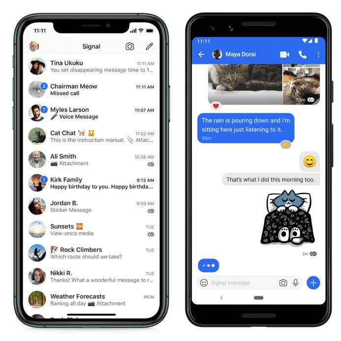 whatsapp alternatifi uygulamalar, mesalaşma uygulamaları, whatsaap alternatifi, telegram, signal