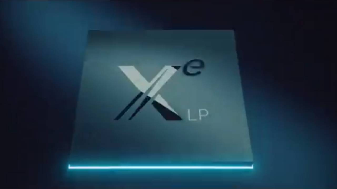 Intel shared a tip about Xe HPG