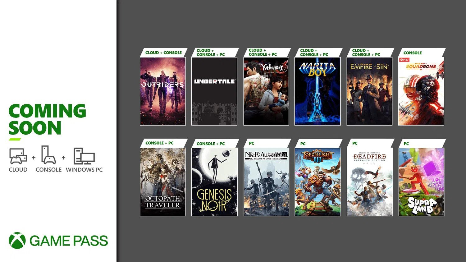 game pass new games