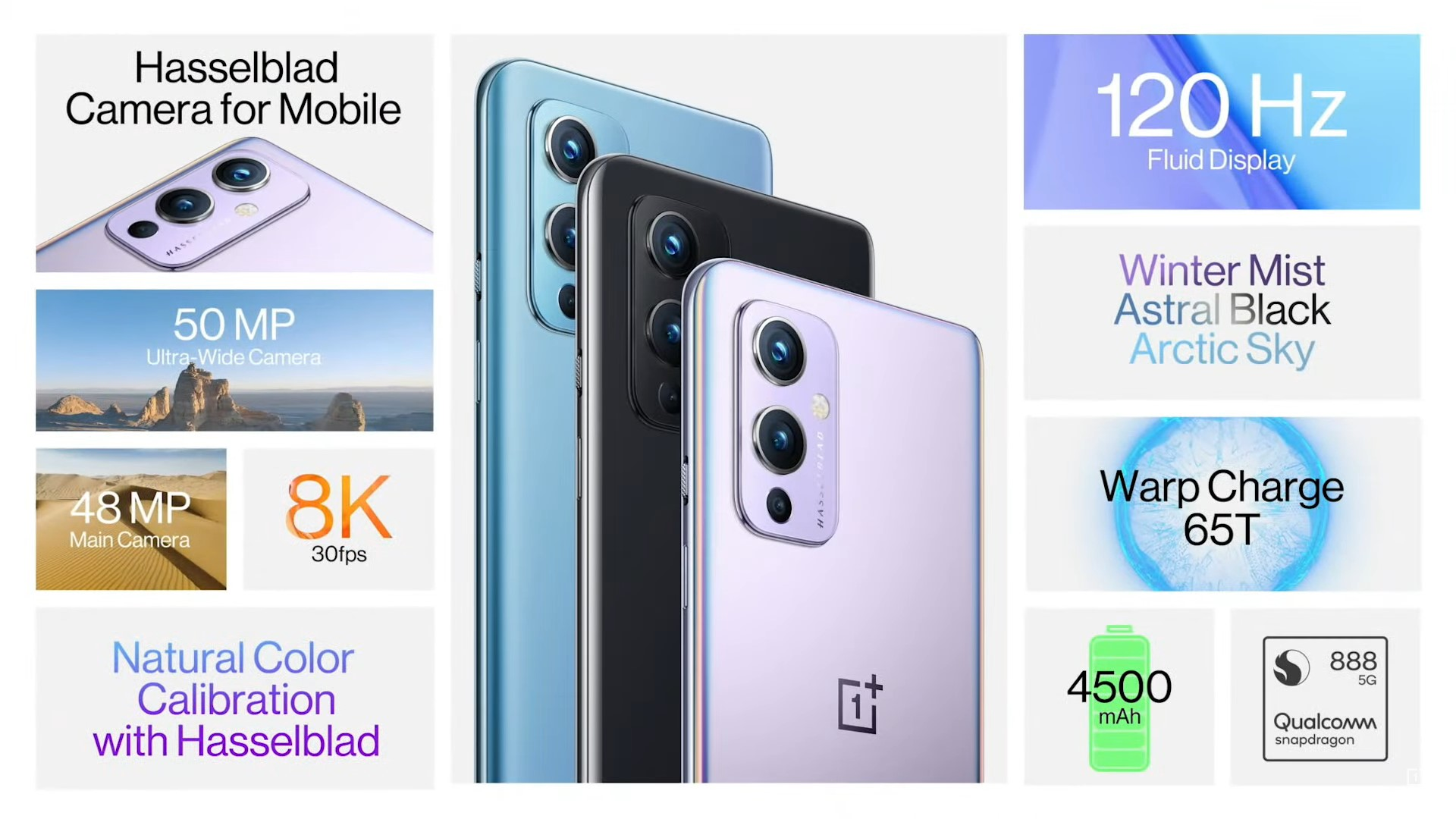 OnePlus 9 features