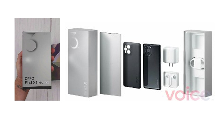 oppo find x3 Pro, Find x3 pro box content, find x3 pro features