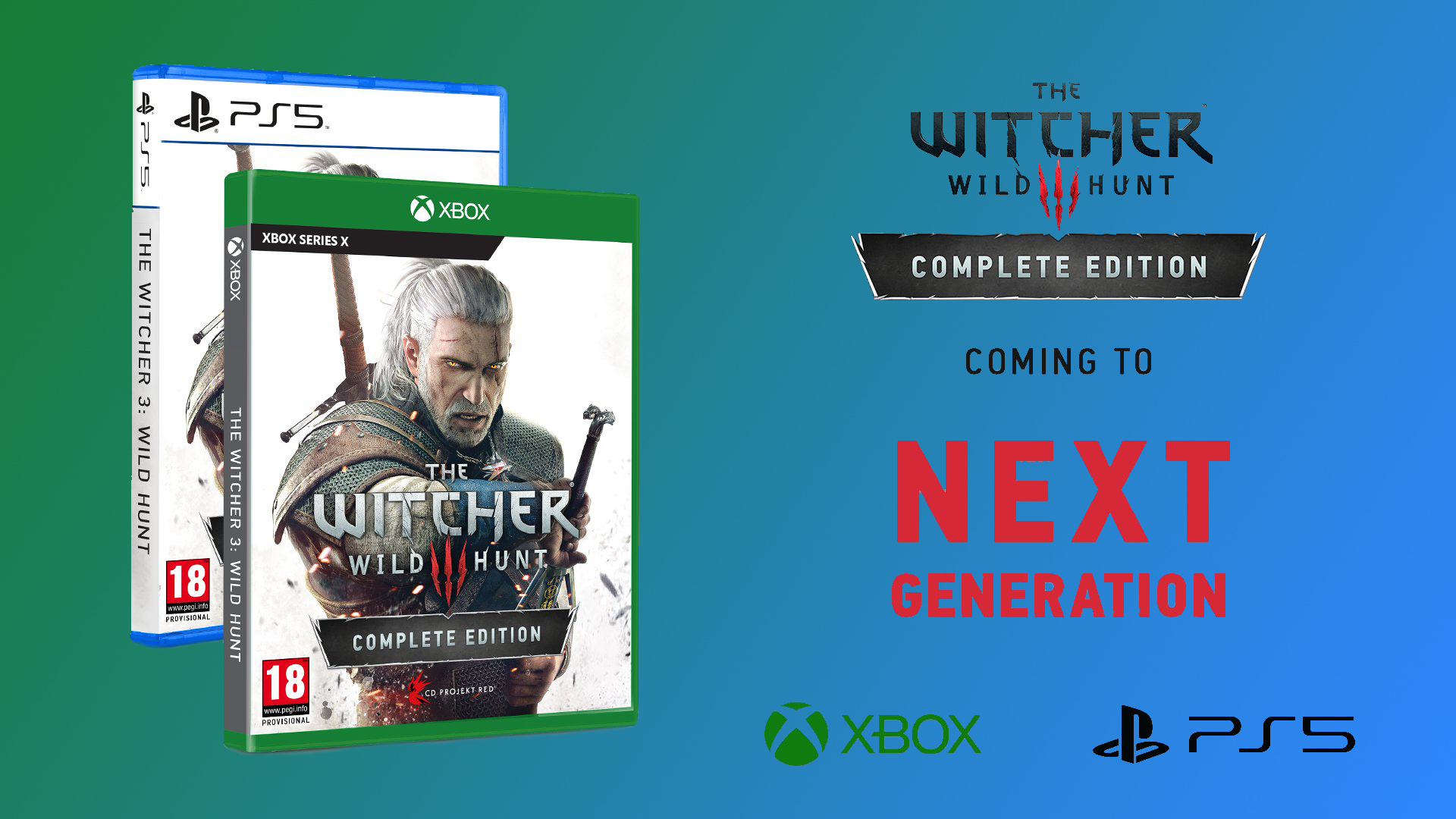 The Witcher 3 new generation