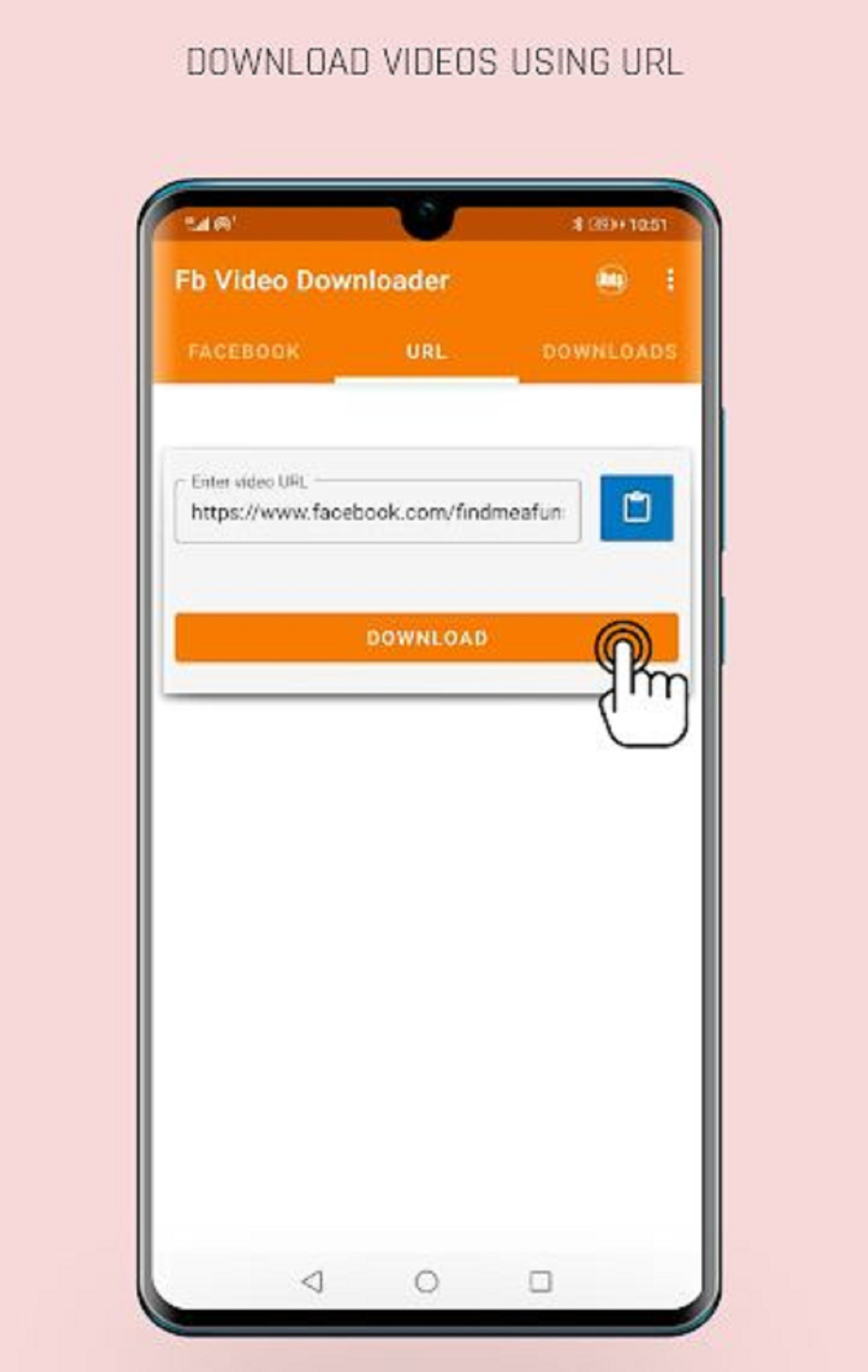 android facebook video indirme