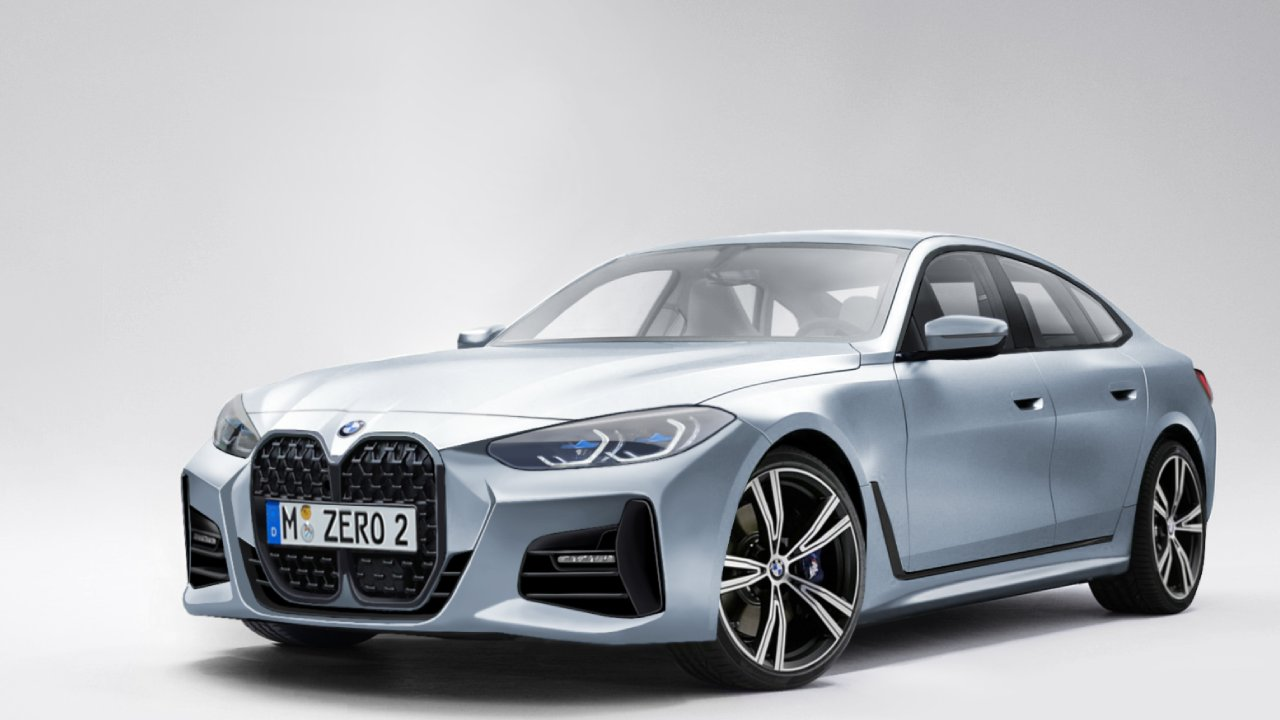 2022 BMW 4 Series, which attracts attention with its performance, was shown