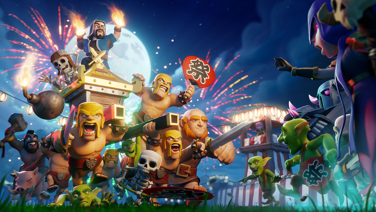 Supercell is developing three new Clash of Clans games