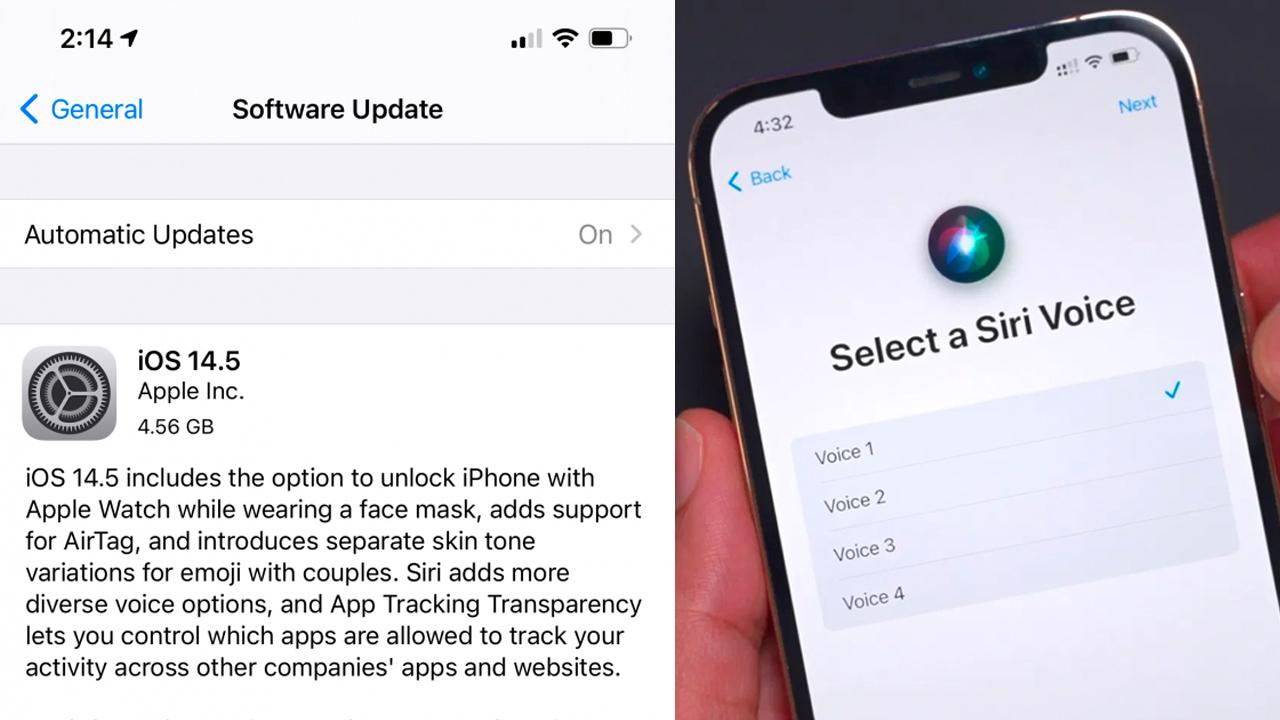 iOS 14.5 için meraklı bekleyiş sona eriyor