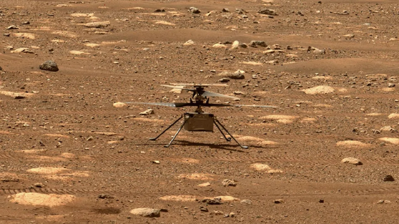 mars helicopters